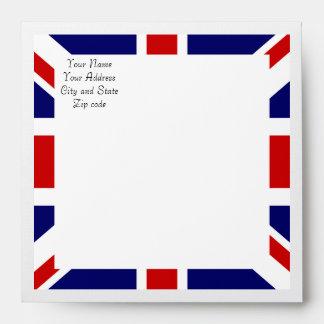 Royal Wedding Watch Party Matching Envelope