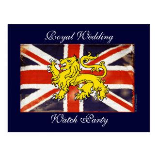 Royal Wedding Watch Party Postcard