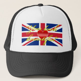 Royal Wedding Whispers Trucker Hat