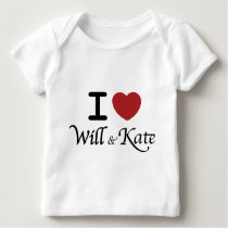 Royal Wedding William and Kate Baby Long Sleeve Baby T-Shirt