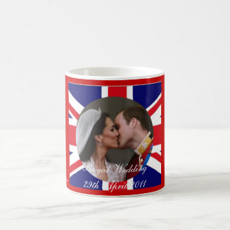 Royal Wedding William and Kate kiss mug