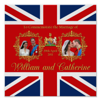 Royal Wedding - William and Kate Print