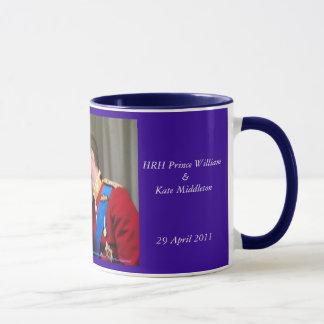 Royal Wedding William and Kate souvenir mug