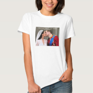 Royal Wedding William and Kate Tee Shirts