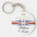 Royal Wedding - William & Kate Commemoratives Key Chains