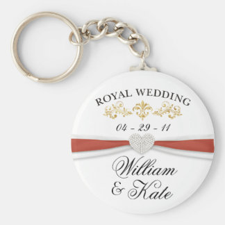 Royal Wedding - William & Kate Elegant Keepsakes Keychain