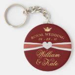Royal Wedding - William & Kate Keepsake Gifts Key Chain