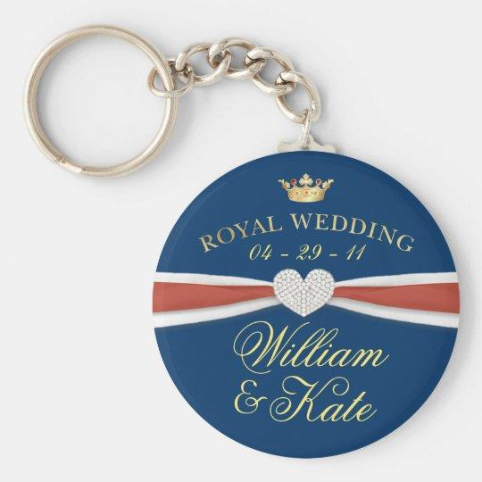 Royal Wedding - William & Kate Keepsake Gifts Keychain