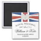 Royal Wedding - William & Kate Keepsake Magnet