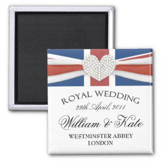 Royal Wedding - William Kate Keepsake Magnet