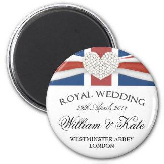Royal Wedding - William & Kate Keepsake Magnet