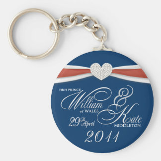 Royal Wedding - William & Kate Key Rings
