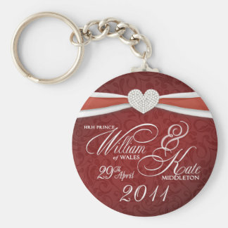 Royal Wedding - William & Kate Key Rings