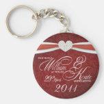 Royal Wedding - William & Kate Key Rings Keychain