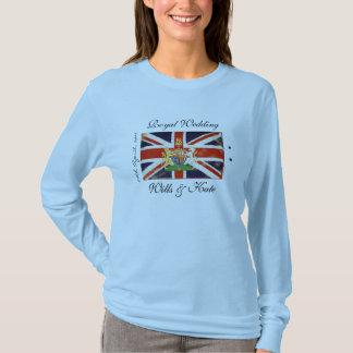 Royal Wedding Wills and Kate Long Sleeve T-Shirt