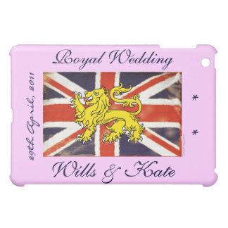 Royal Wedding Wills and Kate (Pink) iPad Mini Cover