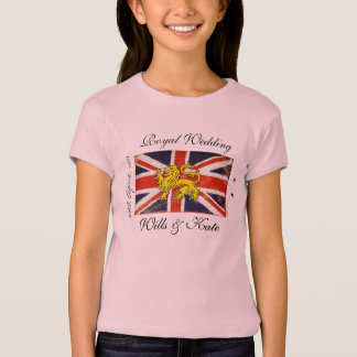 Royal Wedding Wills & Kate Kids T-Shirt