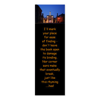 Royal William Yard Entranceway bookmarks Double-Sided Mini Business Cards (Pack Of 20)