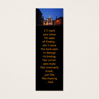 Royal William Yard Entranceway bookmarks Mini Business Card
