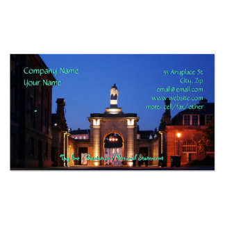 Royal William Yard Entranceway Double-Sided Standard Business Cards (Pack Of 100)