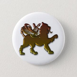 Royal Winged Lion Pin