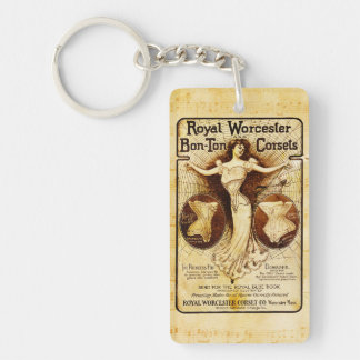 Royal Worcester corsets Keychain