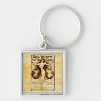 Royal Worcester corsets Key Chain