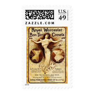 Royal Worcester corsets Stamps