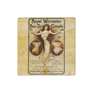 Royal Worcester corsets Stone Magnet