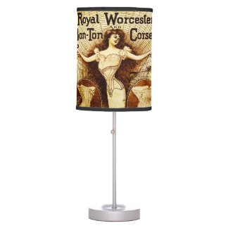 Royal Worcester corsets Table Lamp