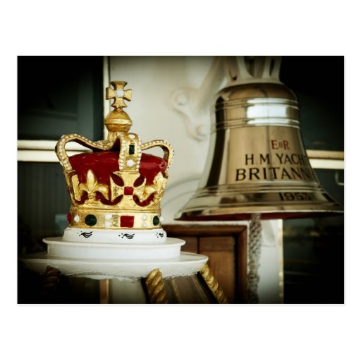 Royal Yacht Britannia Postcard
