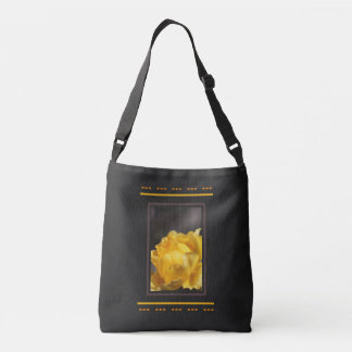 Royal Yellow Rose Cross Body Bag
