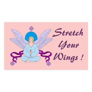 Royal Yoga Angel Business Card