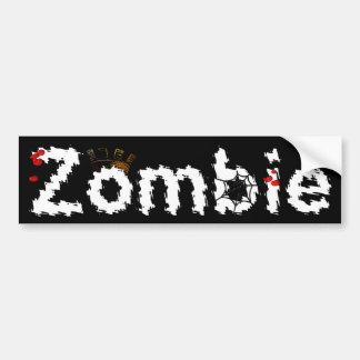 Royal Zombie Bumper Sticker