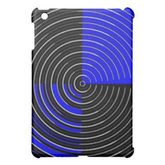 RoyalBlue n Silver Streak iPad Mini Cover