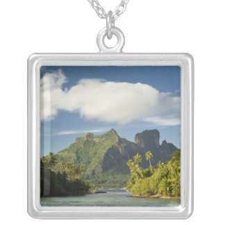 Royale honeymoon over-the-water suite at Bora Silver Plated Necklace