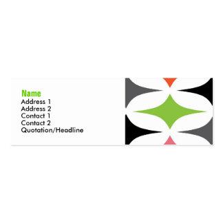 Royale Profile Card Mini Business Card