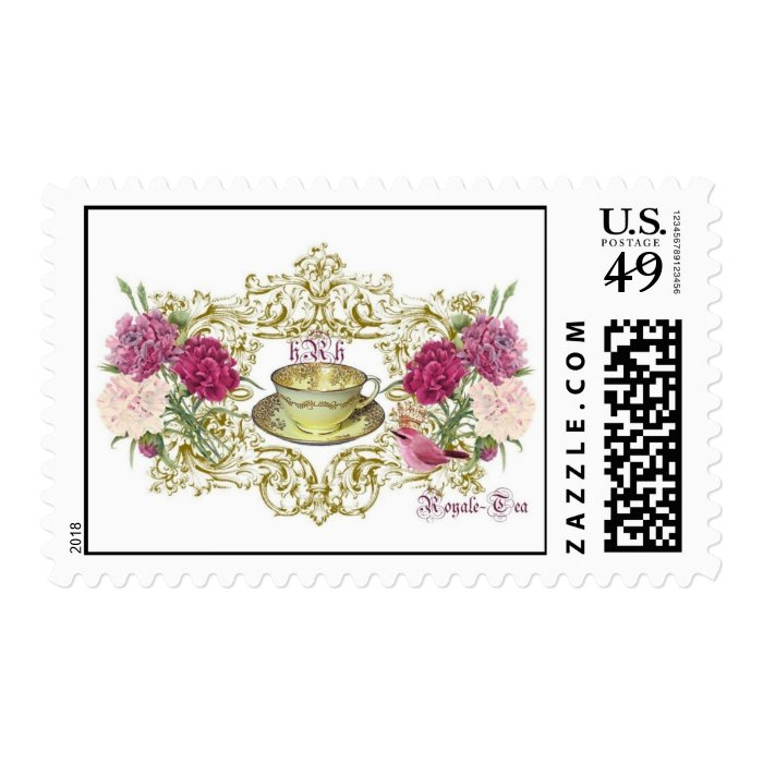Royale Tea French Inspired Postage