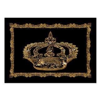 Royalee Catherine  Crown Elegant Large Business Cards (Pack Of 100)