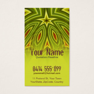RoYaLi Vertical Business Card - Customized
