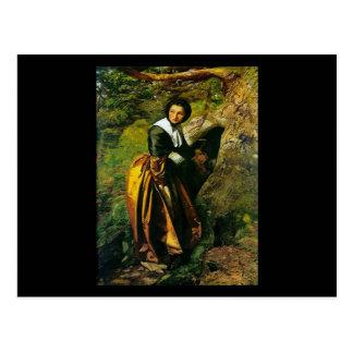 Royalist de John Everett Millais Postal
