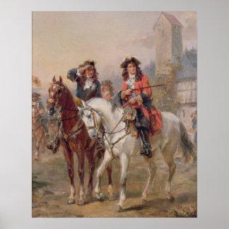 Royalists (aceite en el panel) (pares de 124465) póster