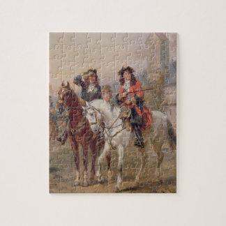 Royalists aceite en el panel pares de 124465 puzzles