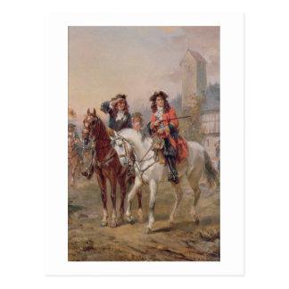 Royalists (aceite en el panel) (pares de 124465) postal