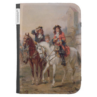 Royalists (oil on panel) (pair of 124465) kindle folio cases