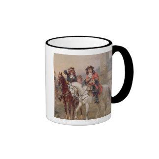 Royalists (oil on panel) (pair of 124465) mugs