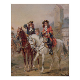 Royalists (oil on panel) (pair of 124465) poster