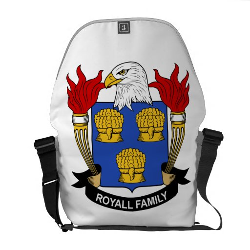 Royall Family Crest Courier Bag