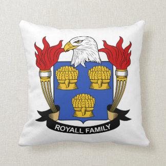 Royall Family Crest Throw Pillows
