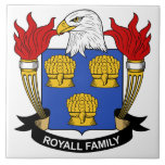 Royall Family Crest Tile